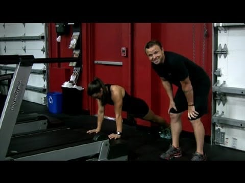 How to Work Your Triceps on a Treadmill : Exercising at the Gym
