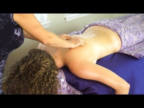 Massage Therapy Techniques, Swedish & Deep Tissue Back Massage For Relaxation Jen Hilman