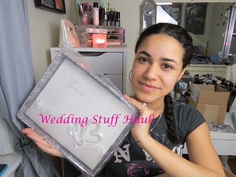 Wedding Stuff Haul!