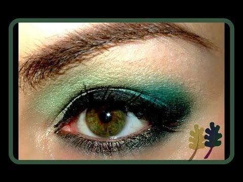 Hunger Games Lumber District 7 make up look
