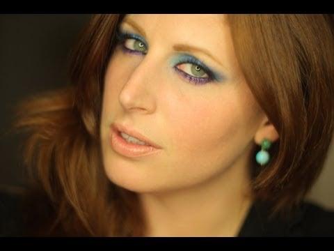 Makeup Tutorial Blu Viola